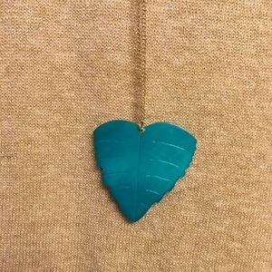 Jewelry - Leaf necklace